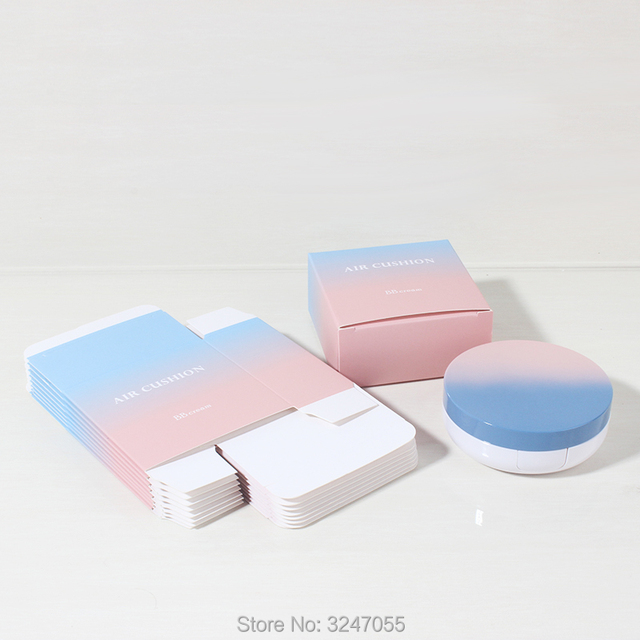 Us 49 22 21 Off 10pcs Lot Elegant Quality Empty Air Cushion Storage Box Diy Plastic Cosmetic Bb Cream Container Top Grade Foundation Cases In