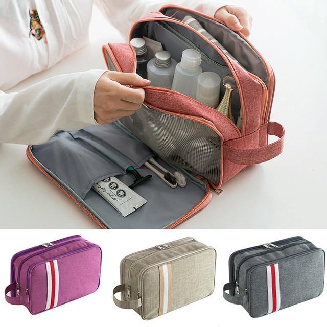 防水トラベル収納袋ドライ、ウェット分離洗浄バッグ洗える多機能オーガナイザーバッグのためのハイキング旅行女性男性