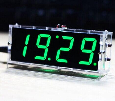 51 single chip microcomputer colock DIY kit light control 1inch LED digital Display bulk items with