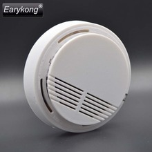 Large Promotion Wi-fi Smoke Detector Hearth Alarm 433MHz For Dwelling Burglar GSM Alarm System For Dwelling Alarm System