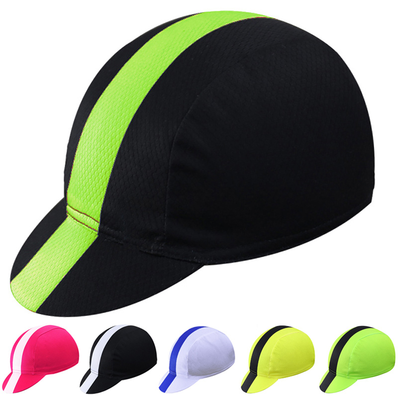 100% Polyester Outdoor Sport Baseball Bike Bicycles Moto Headwear Helmet Headband Hats Bandana Cycling Cap