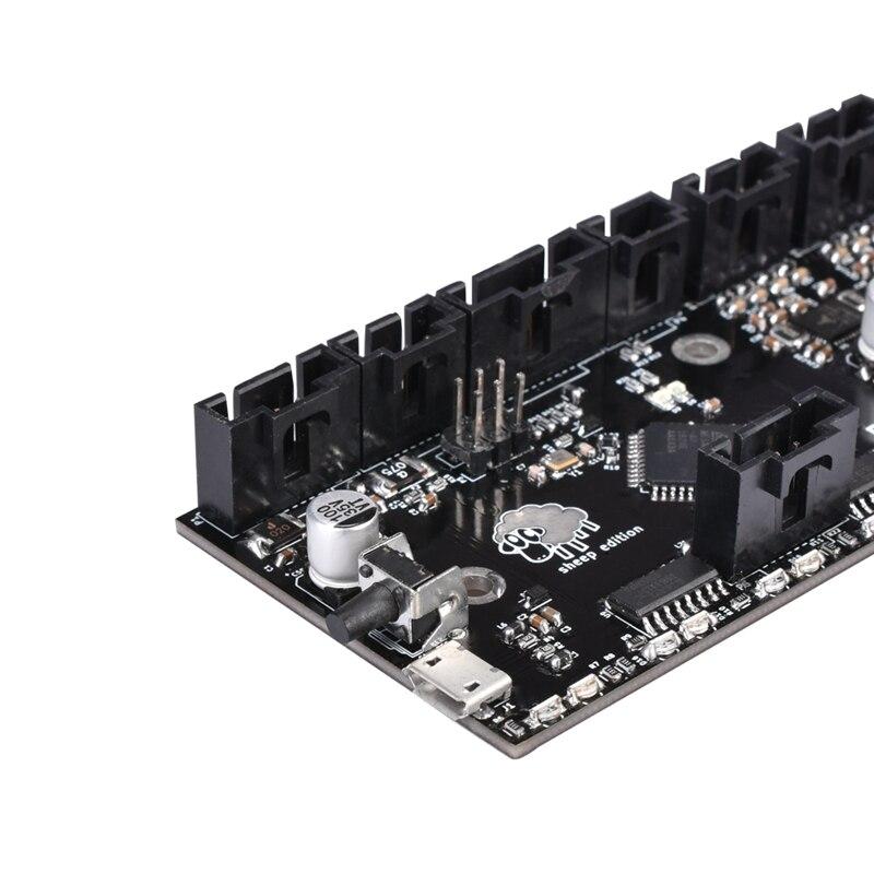 Bigtreetech 3D imprimante pièces clonées I3 Mk3 Mmu2 conseil Multi matériel 2.0 mise à niveau Mm carte de contrôle avec contrôleur de puce Tmc2130 - 3