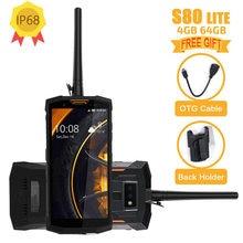 Versión Global Doogee S80 4G LTE teléfono móvil Android 8,1 de 5,99