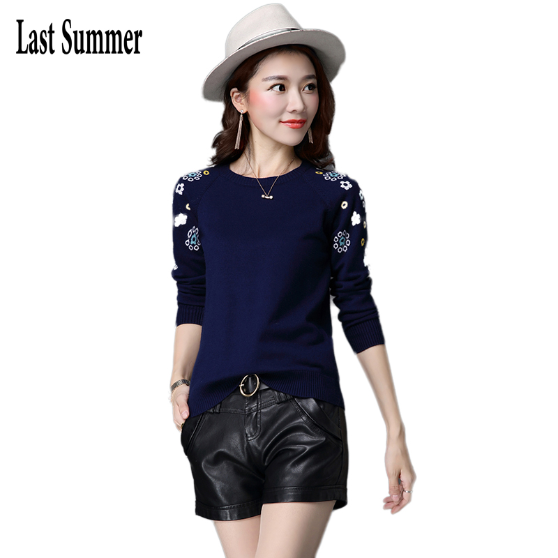 Free Shipping New Fashion 2019 Spring  Autumn For Women Sweaters  Loose Warm Animal Knitted Pullovers Sweaters Lady