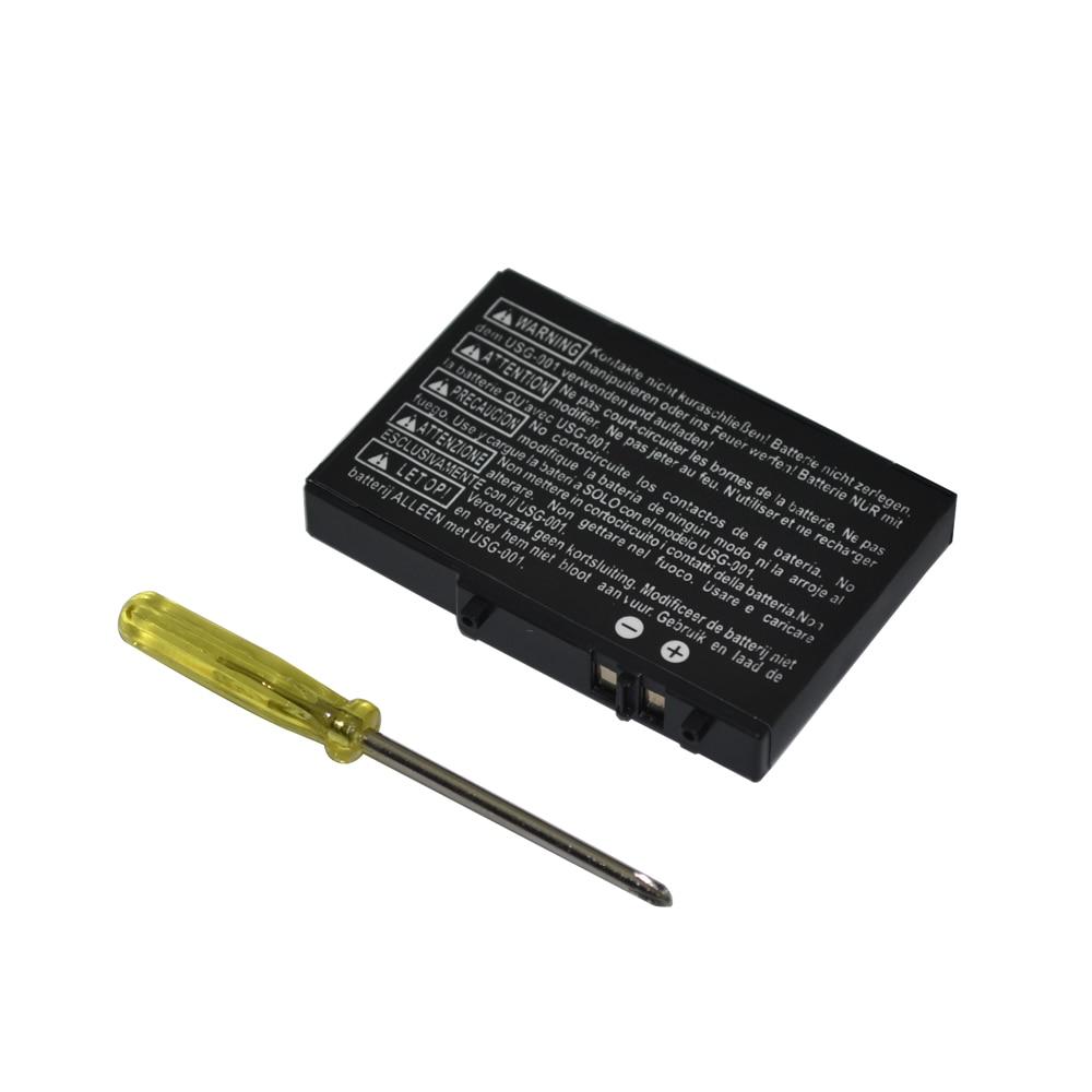 Taschen Unterhaltungselektronik 2 Stücke Batterie Pack 3,7 V 2000 Mah Li-ion Wiederaufladbare Für N D S Power Pack Lite Mit Zerlegen Schraubendreher Jade Weiß
