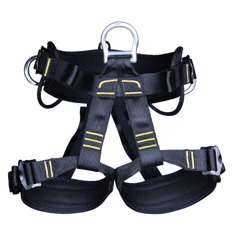 P121 Outdoor rock climbing downhill development of aerial safety belt rock climbing equipment halfway exploration caverns