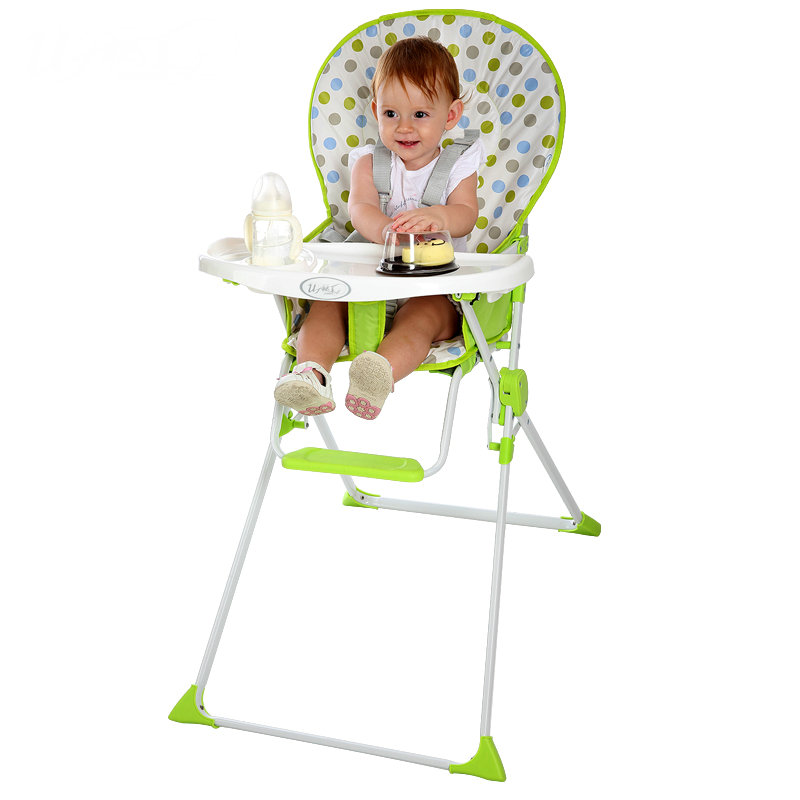 BABY NEST Portable Folding Baby Dining Chair PVC Waterproof Fabric Solid Simple Baby Dining Chair накладки для пеленания candide коврик с валиками овальный baby nest 82x52