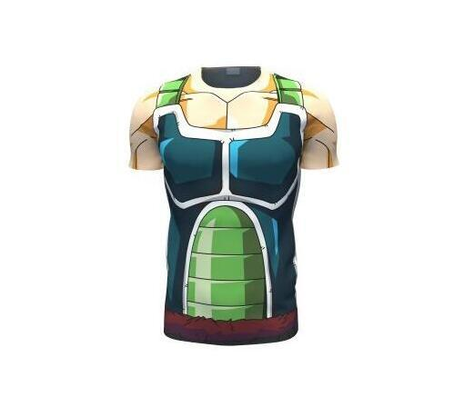 Dragon Ball Z Men Armor 3D T-Shirt