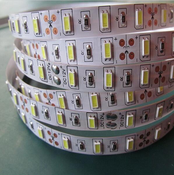 Yüksək keyfiyyətli LED Strip yüngül 5630 SMD DC12V 5M 300led - LED işıqlandırma - Fotoqrafiya 2