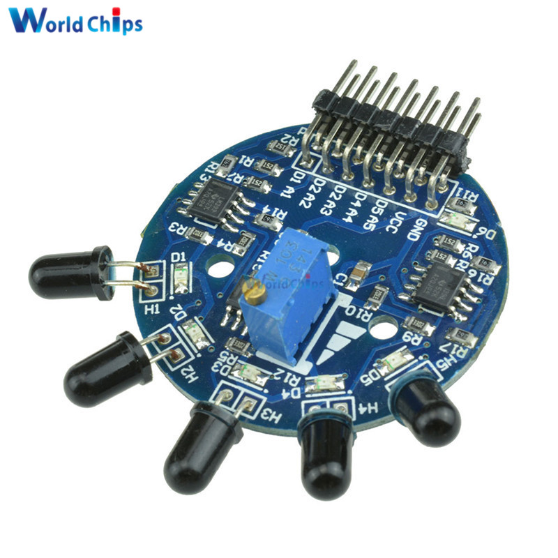 US $1 95 12% OFF 5 Way Flame Sensor Module Digital Analog Signal Dual  Output Fire Detection Sensor Module for Arduino-in Sensors from Electronic