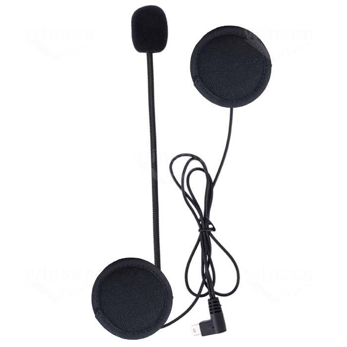 V2 Intercom Accessories,Microphone & Earphone Stereo Suit For V2 Bluetooth Intercom Motorcycle