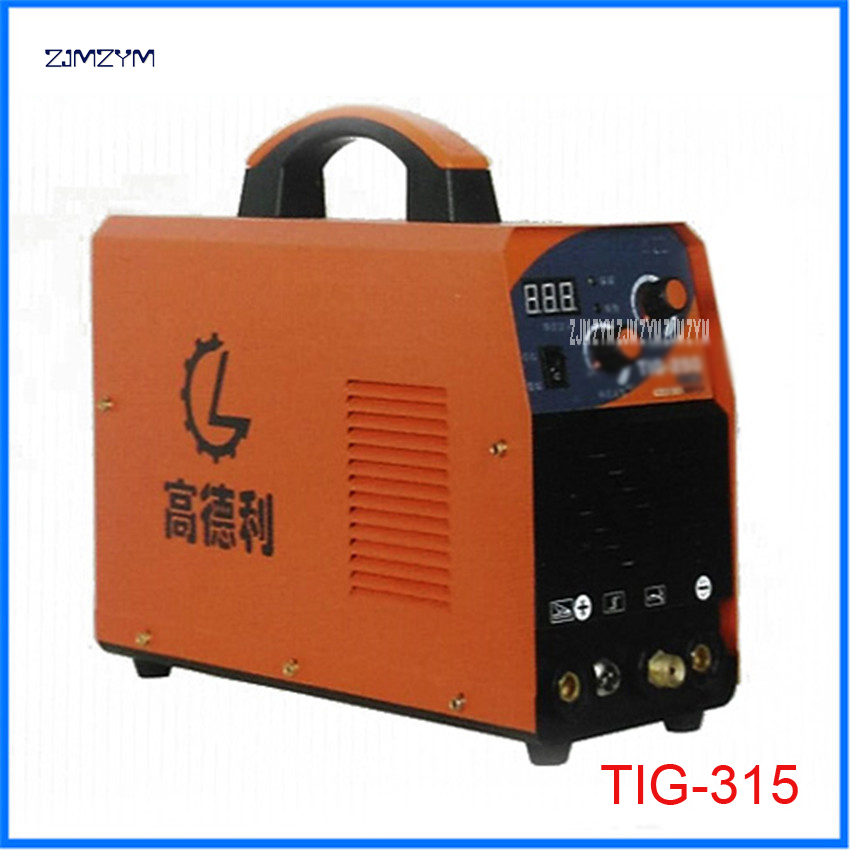 110 500V Spot Welders multi function inverter TIG Alumnium small welding machine TIG 315 Applicable electrode diameter 1.6 3.2