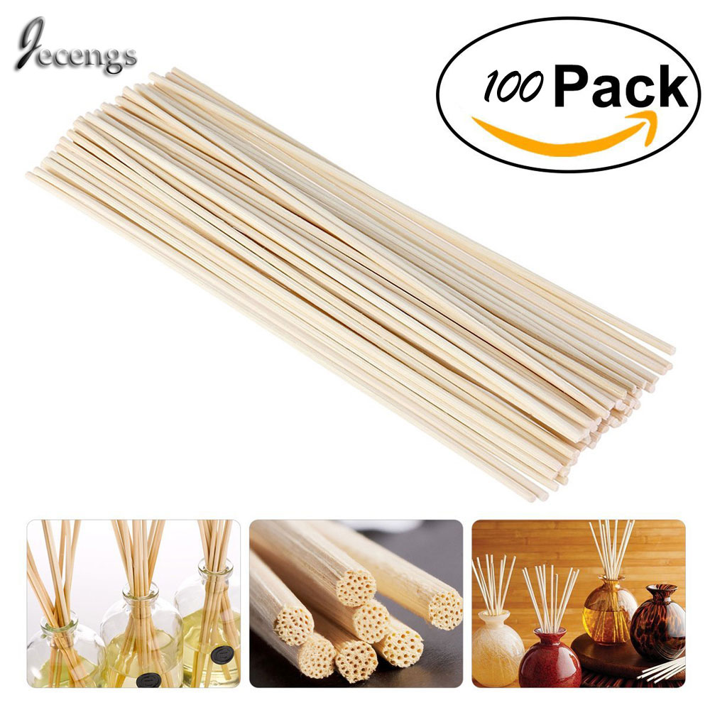 Премиум White Rattan Reed Fragrance Diffuser Replacement толтырғыштар 300mm * 3.5MM