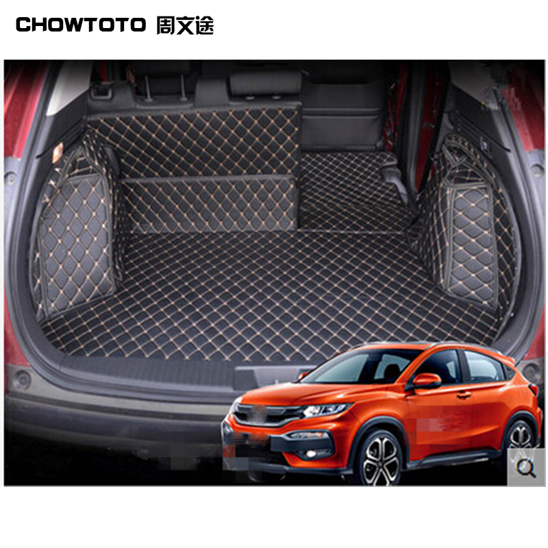 CHOWTOTO AA Tapetes para baúl especiales para Honda HR-V Alfombras - Accesorios de interior de coche