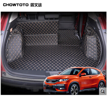 CHOWTOTO AA Special Trunk Mats For Honda HR V Waterproof Easy To Clean Boot Carpets For