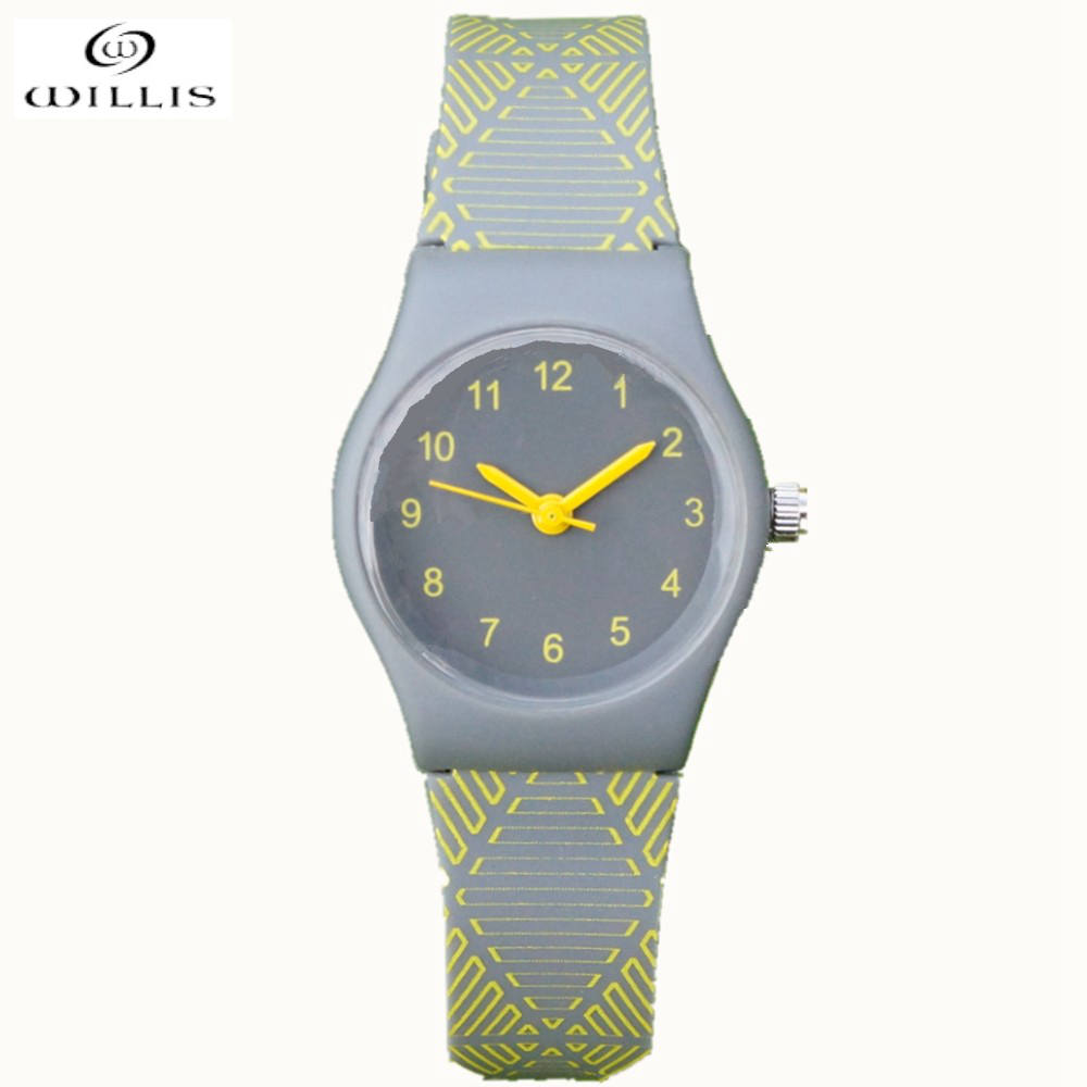 willis quartz watch women fashion silicone candy casual bracelet clock watches reloj mujer 2017