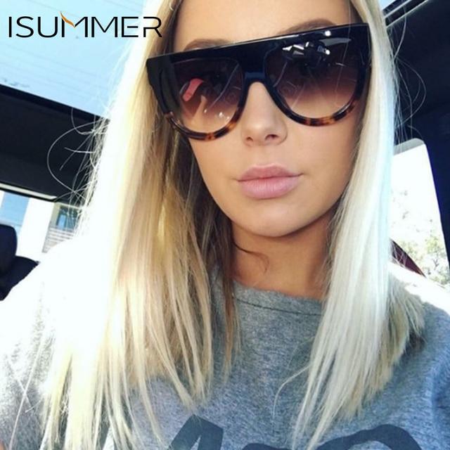37876ad4494 ISummer Sunglasses Women Gradient Lens Sun glasses Men Full Frame Shades  Brand Designer Ladies Glasses Unisex oculos Wholesale