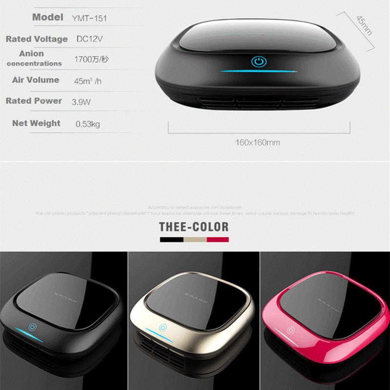 Free shippingPortable Air Purifier Mini Car Air Purifier Ozone Ionizer, Car Gadget in China Market Wholesale, Car Ionfrom OHMEKA