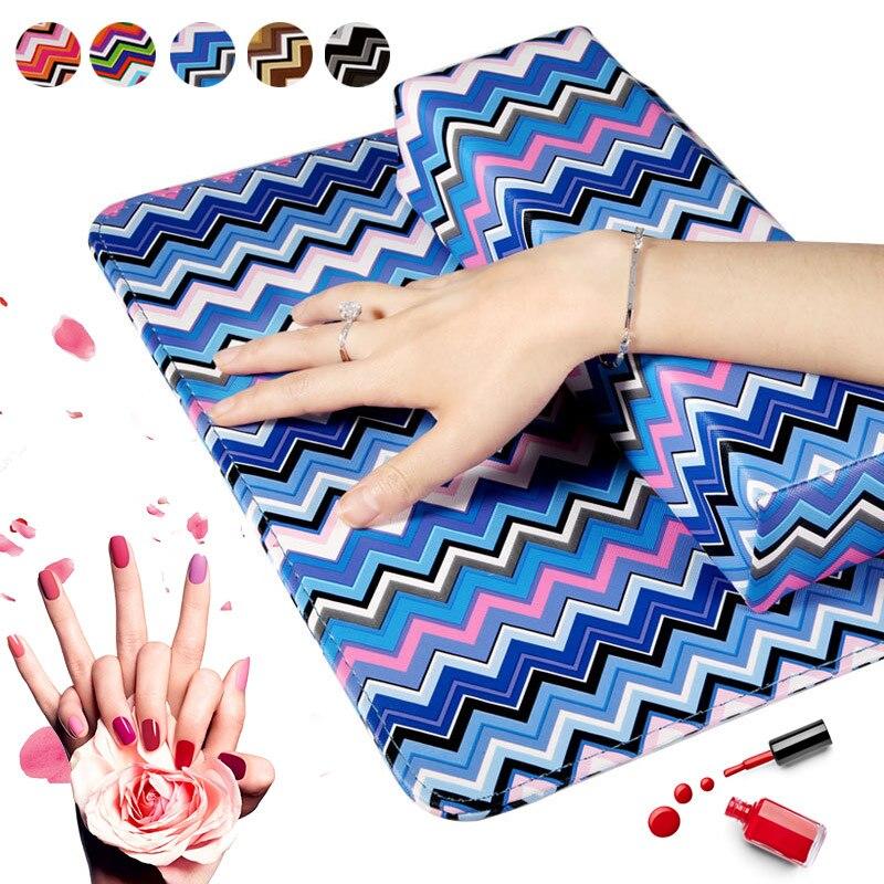 Schönheit & Gesundheit Werkzeuge & Zubehör 5 Styles Nail Art Hand Ruht Maniküre Hand Kissen Matte Kit Nail Art Hand Halter Rest Soft Salon Werkzeug Raute Pattren Ungleiche Leistung