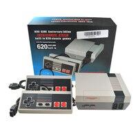 HDMI & AV TV Para Nes Handheld Game Console Jogos de Vídeo Game Console Com 500/600 Jogos Internos Diferentes