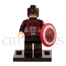 SingleSale Hydra Captain America Minifigures Super Heroes Avengers Assemble Model Building Blocks Kids Education Learning Toys