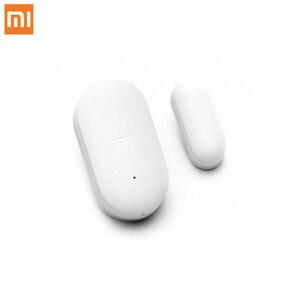 Image 2 - Venda empacotada original xiaomi mijia inteligente mini sensor de janela da porta bolso tamanho casa inteligente luzes automáticas para mihome app