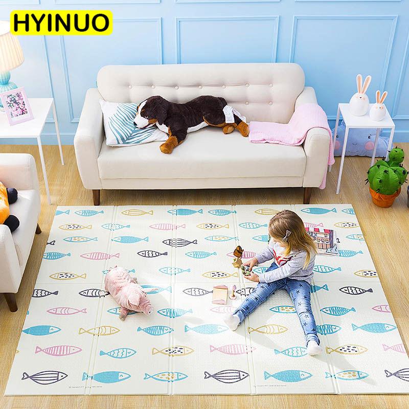 XPE enfants mousse rembourré bébé ramper tapis salon pliant Yoga pratique tapis écologique Non-toxique