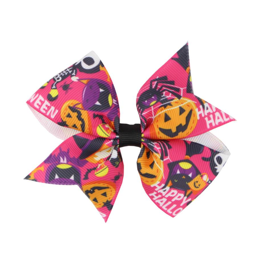 #5 2018 NEW Fashion Girls Kids Bowknot Halloween Hairpin Hair Clip Accessories Free ship