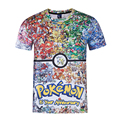 Hot Pokemon Go Collection Arceus 3D Print T-shirt Unisex Tee Shirts Short Sleeve Casual Homme Loose Kid Teen Tops