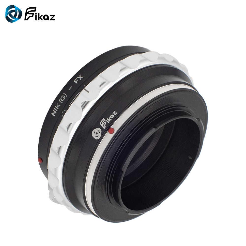 Fikaz AI (G)-FX Камера объектива переходное кольцо для Nikon AI G объектив Fujifilm X FX с помощью крепления в форме X-Pro1 X-M1 X-A1 X-E1 X-E2 X-T10 X100