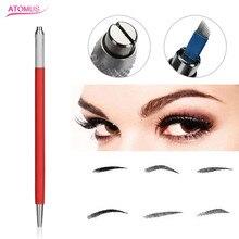 Manual Eyebrow Permanent Makeup Pen Tattoo Machine Micro Needling Pen For Blade microblading supplies