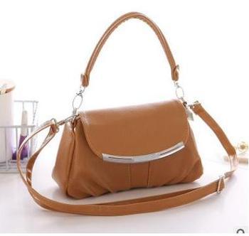 Brown casual summer bag