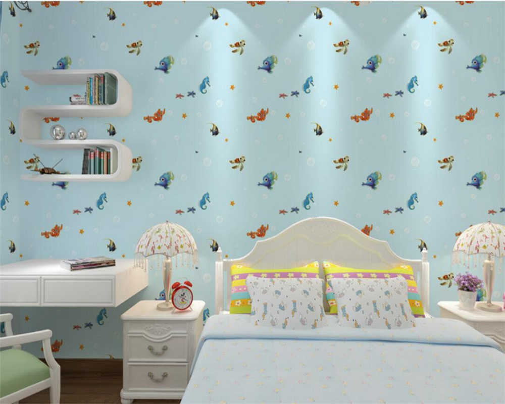 Behang Slaapkamer Blauw.Blauw Behang Blauwe Bloemen Vintage Behang Funkywalls De Webshop Voor