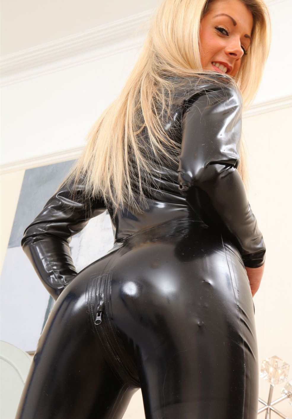 plus latex size wear pvc Wet sexy