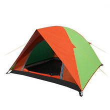 Two Person Windproof Waterproof Anti UV Double Layer Tent 8mm Fiberglass Pole Ultralight Outdoor Hiking Camping Tent