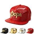 Новый Крокодил Зерна алмаза письмо бейсболка плоские шляпы хип-хоп шляпа мужчины и женщины прилив