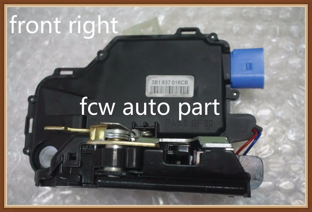 best part Front Right For VW New Beetle/T5 Transporter,Multivan 5,Kasten/Polo/Lupo/Seat Ibiza 4/Skoda Fabia Door Lock Mechanism