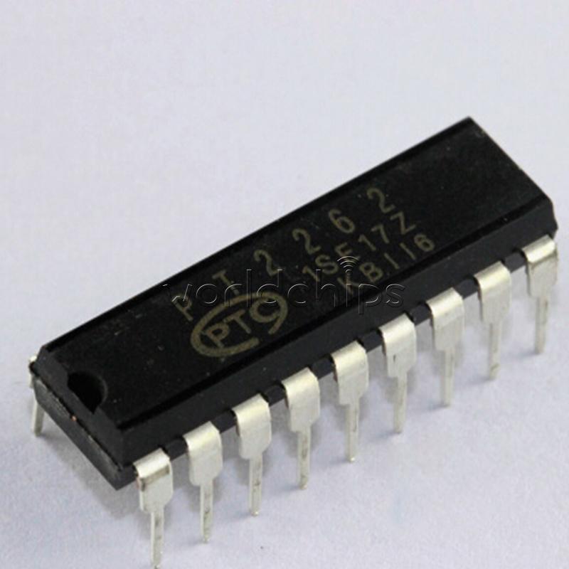10PCS PT2262 DIP-18 PTC Remote Control Encoder NEW