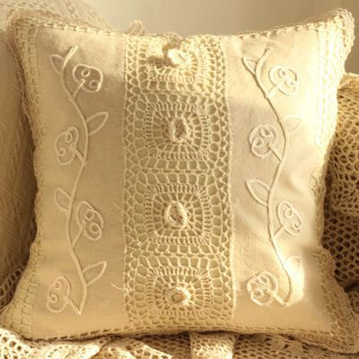 forest departmant home decor geometric crochet cushion cover