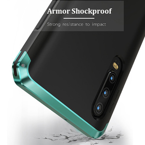 Image 5 - Armor Aluminum Metal Frame Case For Huawei P40 Pro P30 Case Hard Plastics Hybrid Shockproof Cover for Huawei P30 Pro Phone Shell