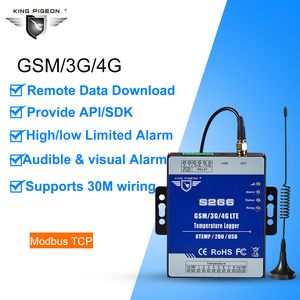 Image 3 - GSM 3 グラム 4 4G LTE 携帯 RTU テレメトリ温度データロガー 8 チャンネル温度監視アラート sms 経由/ コール/GPRS S266