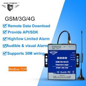 Image 3 - GSM 3G 4G LTE Cellular RTU telemetría registrador de datos de temperatura alerta de monitoreo de temperatura de 8 canales a través de SMS/Call/GPRS S266
