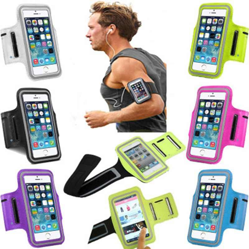 Running Sports Armband For Huawei P8 P9 Lite 2017 P10 P20 Honor 5X 6X 6A 7X Nokia 4 5 6 8 9 One Plus Cover Arm Band Phone Cases