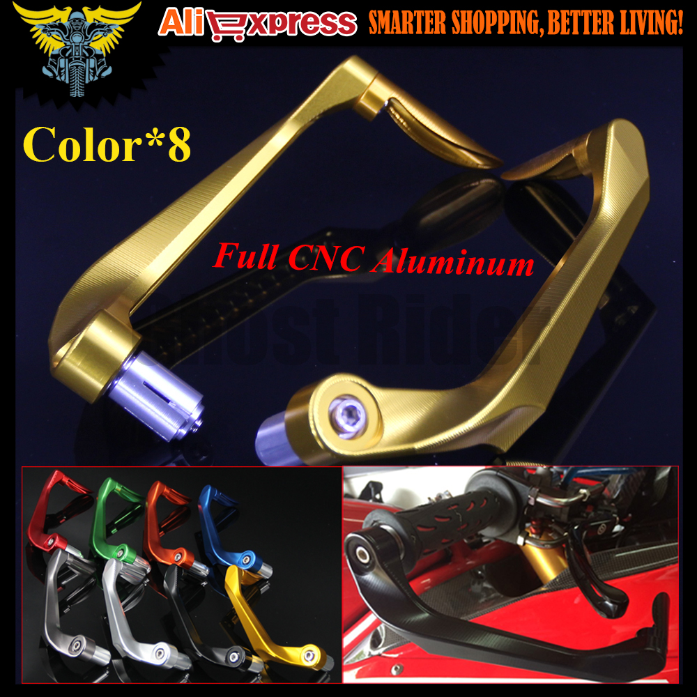 For Aprilia CAPANORD 1200/Rally SHIVER / GT RSV MILLE/R 7/8 22mm CNC Motorcycle Handlebar Brake Clutch Levers Protector Guard