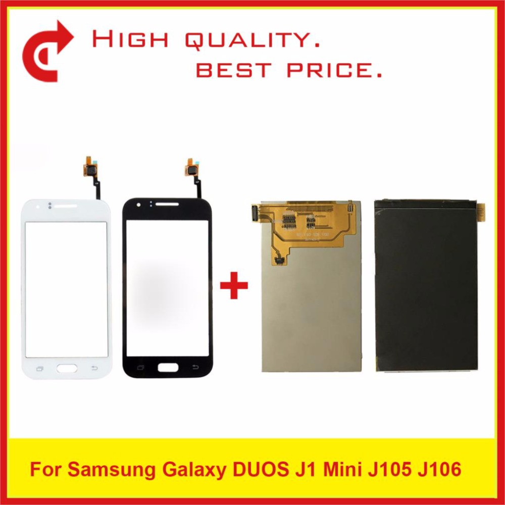 "4.0"" For Samsung Galaxy J1 Mini J105 SM J105F J105B J106 Lcd Display With Touch Screen Digitizer Sensor Panel Pantalla-in Mobile Phone LCD Screens from Cellphones & Telecommunications"