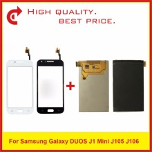 "4.0 ""Per Samsung Galaxy J1 Mini J105 SM J105F J105B J106 Display Lcd Con Touch Screen Digitizer Pannello Del Sensore Pantalla"