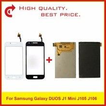 "4.0 ""para samsung galaxy j1 mini j105 SM J105F j105b j106 display lcd com tela de toque digitador do painel sensor pantalla"
