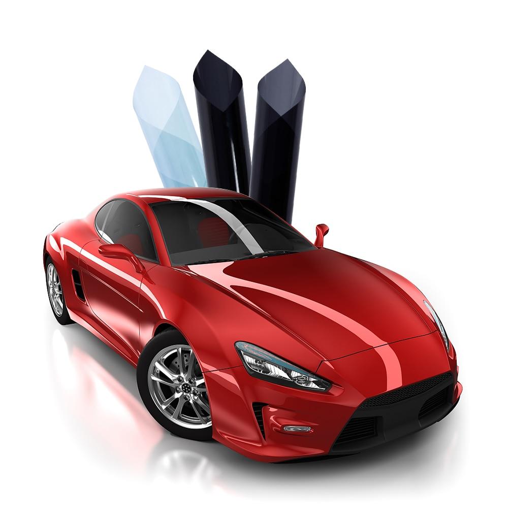 Automatique changé 30%-65% VLT intelligent optiquement contrôlé Film photochromique adhésif voiture maison verre autocollants feuilles 1.52x30 m/Roll