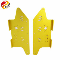 1 Pair of Aluminum Alloy Side Plate Side Chassis for T300/T800/T900 Tank Chassis Metal Parts of DIY Chassis
