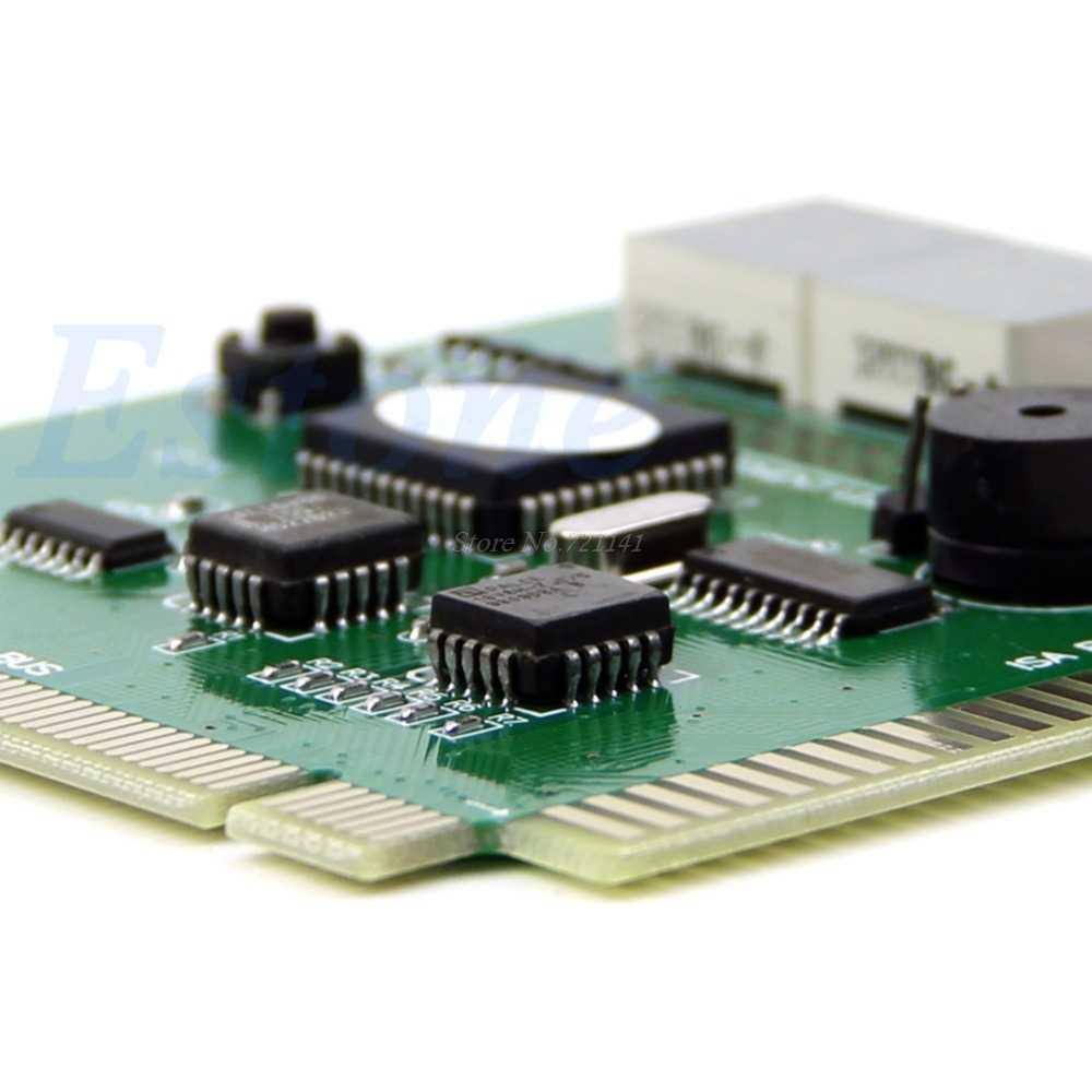 ل 4 أرقام جهاز كمبيوتر شخصي التشخيص بطاقة اللوحة اللوحة تستر مشاركة PCI ISA